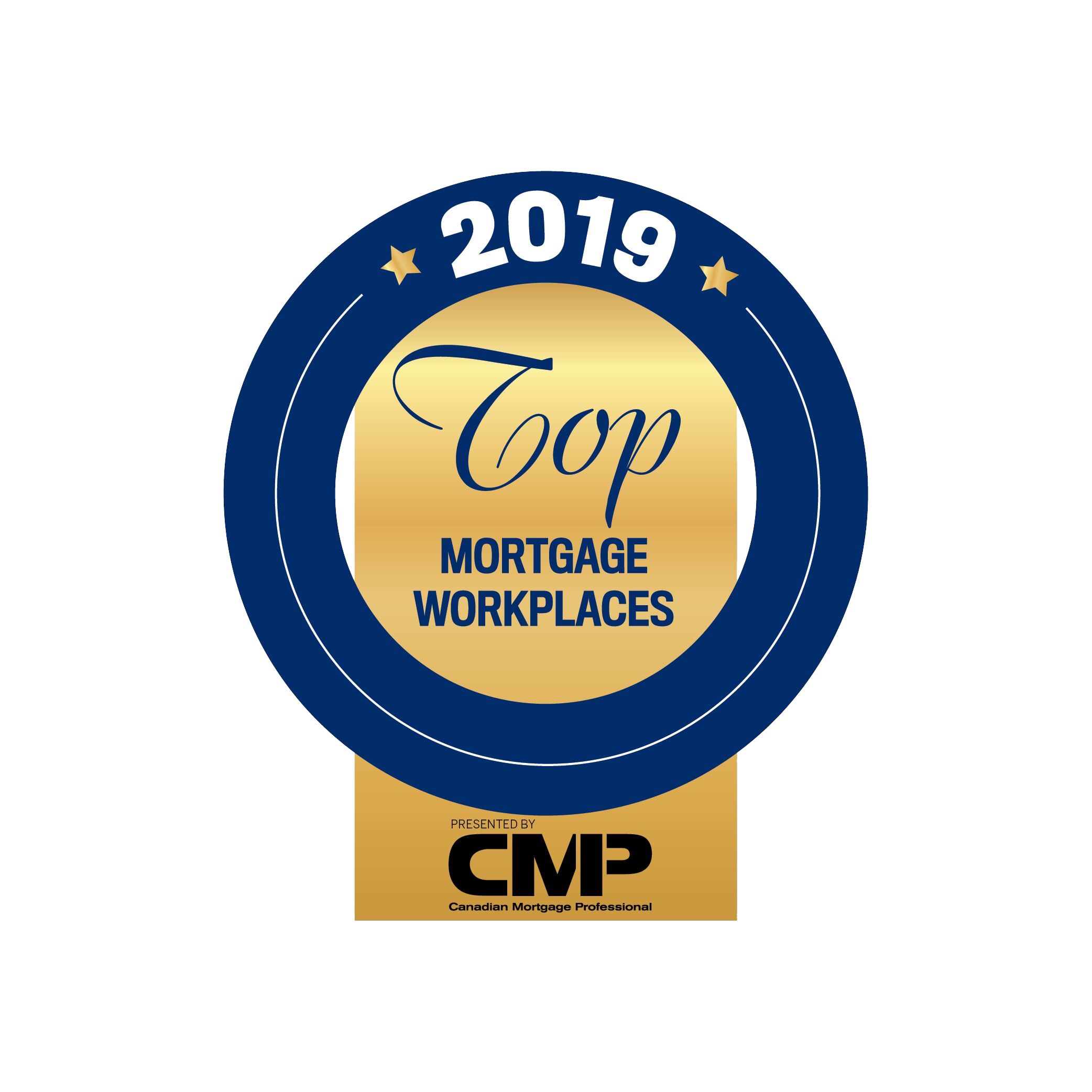 2019 Top Mortgage Workplace Award, Canadian Mortgage Professionals