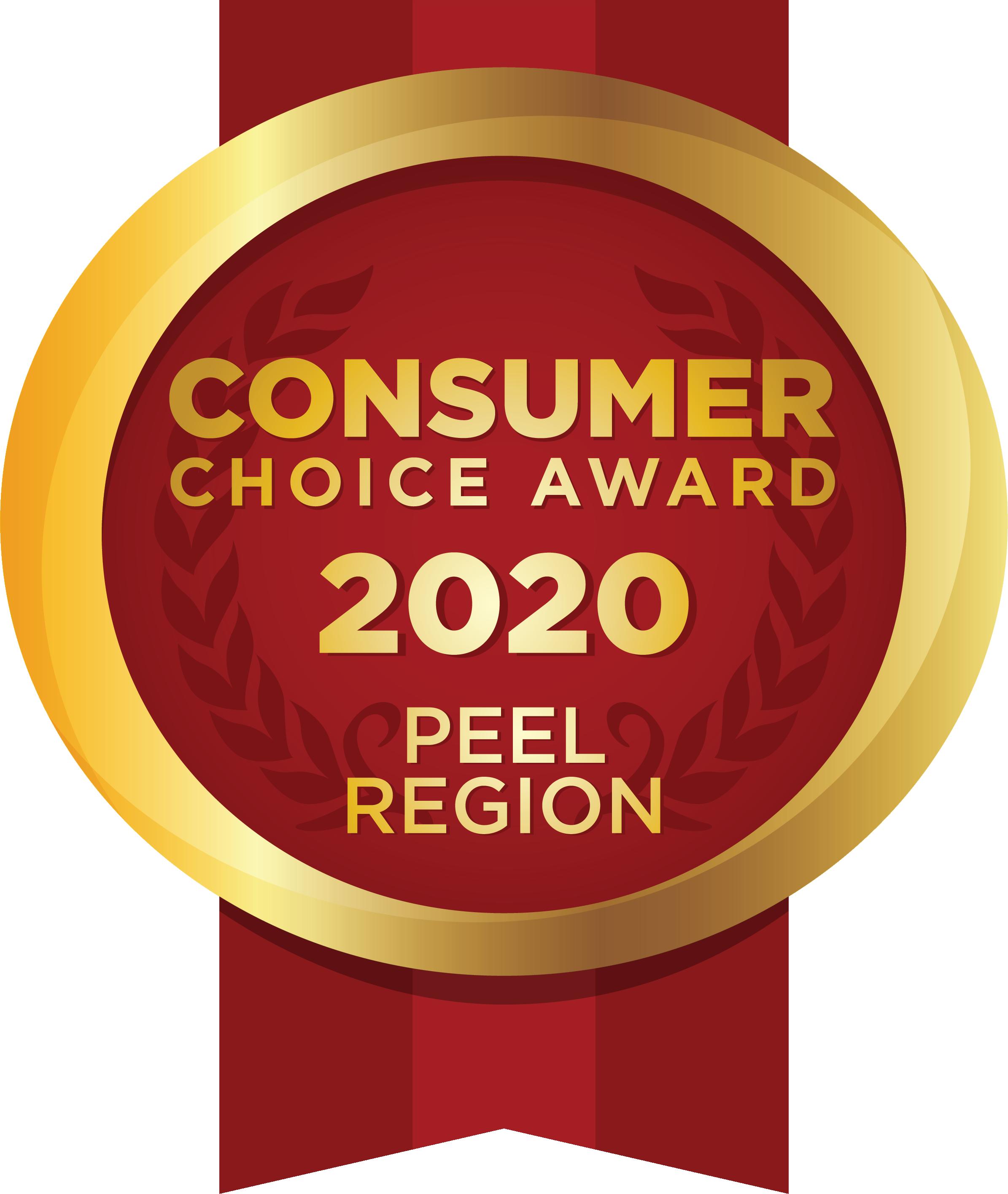 Consumer Choice Award 2020, Peel Region